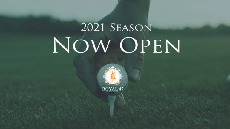 2021 Season Now Open